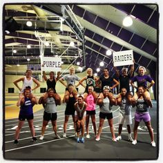 University of Mount Union Cheerleaders 2013-2014