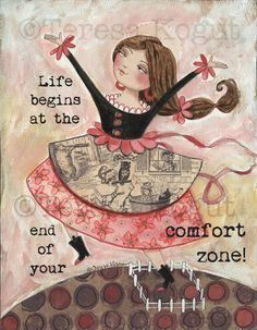 Live Beyond The Comfort Zone