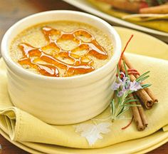 Pumpkin Spice Creme Brulee, creamy and rich, a special-occasion dessert!