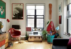 Drew/McManus Residence – 607-square-foot Manhattan apartment / renovated by GRO Architects