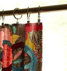 Learn how to make quick and easy curtains