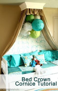Bed Crown Cornice Tu