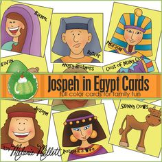 Joseph in Egypt Playing Cards freebie
