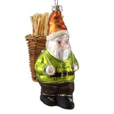 Forest Gnome Christmas Tree Decoration