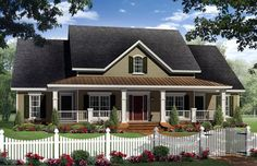 Country   Southern   House Plan 59205