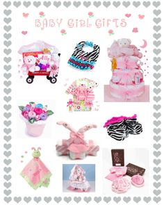 New baby girl gift ideas.  http://www.storkbabygiftbaskets.com/baby-girl-gifts.html