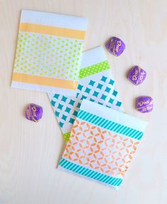 Make gift bags for Mother's Day - and add your favorite chocolate! #sharethedove