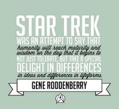 geeki, generoddenberri, nerd, live long, gene roddenberri, stars, startrek, quot, star trek