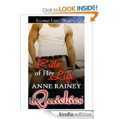 Amazon.com: Ride of Her Life eBook: Anne Rainey: Kindle Store http://www.amazon.com/Ride-of-Her-Life-ebook/dp/B0042JSSR2/ref=pd_sim_kstore_10  It's been a year since her divorce and Lily Justice is ready to move on—but not with just any man. She's got a certain drool-worthy body shop owner in mind. It's almost convenient that her car needs some work. And when she meets Kyle Wolff up close and personal, her inner-slut has to have him, age difference be damned.
