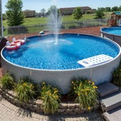 Stunning Ground Pool Design Ideas For Your Backyard