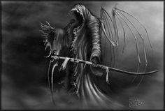 Dark Grim Reaper Evil
