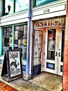 Hatch Show Print Shop. Nashville, TN.