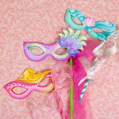 Disney Princess Masquerade Masks   Printables   Spoonful