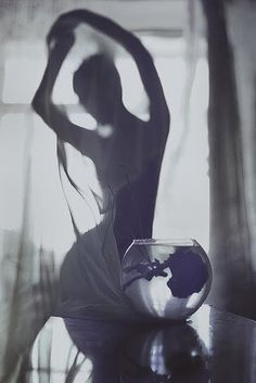 music and a woman by David Galstyan, via Behance