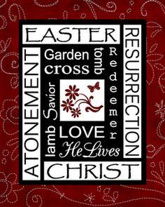 Easter subway art