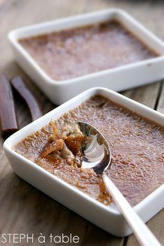 Crème brulée aux carambars : | Stephatable