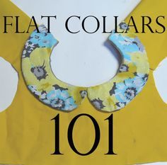Sewing Collars Tutorial
