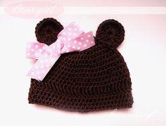 bear girl, bears, crochet hats, newborn hats, babi, hat tutori, hannicraft, crochet pattern, crafts