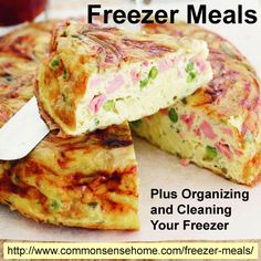 Freezer Meals Plus Organizing and Cleaning Your Freezer @ Common Sense Homesteading