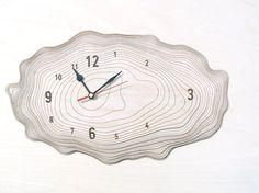 Medium Bark clock  unique wall clock by AsymmetreeDesign on Etsy, €99.00