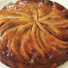 Bill Granger's Banana Maple Upside-Down Cake. This cake has a flavor ...