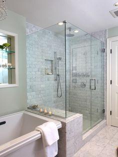 shower/ tub combo