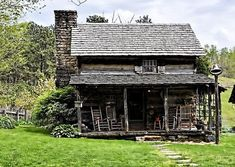 Another pinner said:  west virginia  outside the city's 50 cabins  : But I am not sure where this was taken in WV
