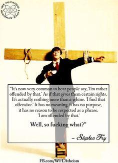 Stephen Fry quote...