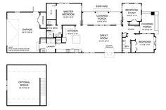 Bungalow Main Floor Plan Plan 900-8