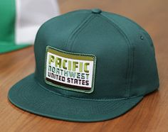 "DDC-004 ""Pacific Northwest United States"" Action Cap #Draplin"