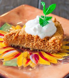 Pumpkin Pie with Graham Cracker Crust