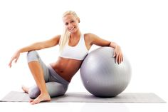 7 stability ball exercises to carve out a hard, sexy stomach.