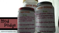 Mod Podge recipe: You can do it yourself!