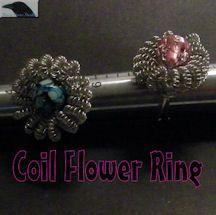 Coil Flower Ring Pattern at Sova-Enterprises.com
