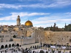 Jerusalem. Actually.. a Lands of the Bible tour would be even more awesome!