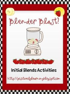 Initial Blends Read & Write the Room and Blender Blast game. 180 initial blend cards & more. $