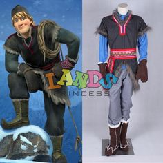 Free Shipping Custom Made Prince Kristoff Costume Frozen Kristoff Costume Adult-in Costumes & Accessories from Apparel & Accessories on Aliexpress.com | Alibaba Group