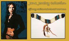 Jana Jewelry Carved Bear Bone Choker -Review the Jana Jewelry Collection off of: http://www.indianvillagemall.com/janabonechoker.html