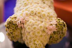 #Spring elephant floral arrangement. #BabyShower #BRITAXStyle