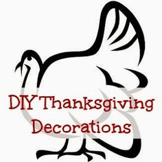 DIY Thanksgiving Decorations. #DIY #Thanksgiving #decorations