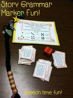 Speech Time Fun: Story Grammar Marker Fun!