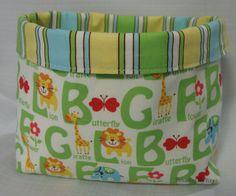 Threading My Way: Fabric Baskets...