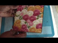 Vertical Paperbag Mini With Tutorial Pt 2 - YouTube