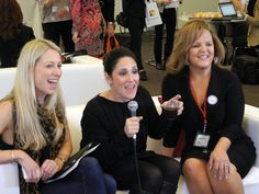 Britt Michaelian, Dabney Porte and the fabulous Ricki Lake at the launch of the #FriendsofRicki community on Feb 1, 2012 http://facebook.com/friendsofricki