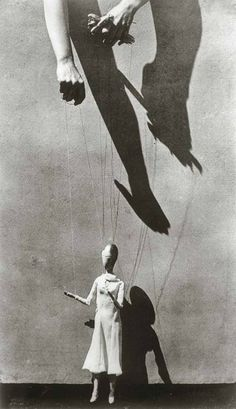 photograph by tina modotti #hands #marionette