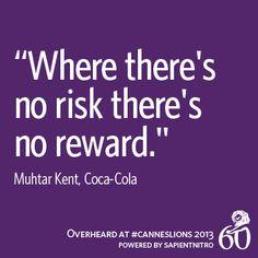 No Rizk – No Reward