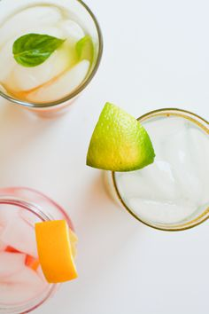 Easy infused water recipes for summer.  //  www.cupcakesandcutlery.com