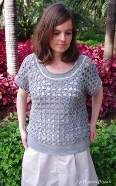 tejido por, crochet top, proyecto tejido