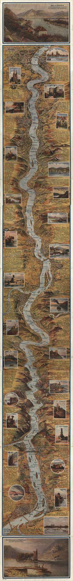 Relief-Panorama des Rheins, 1932 - 10