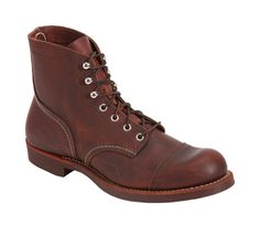 The classic Red Wing Iron Ranger (style 8111) might just be on his wish list. $299.99